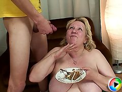 She seduced her son in law and now he's fucking her like she has only dreamed of before