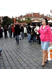 Mature tourist is picked up by a young man and fucked hard back at his place
